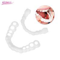 zahnweiß-qualitäten großhandel-1 pairs Zahnkorrektur Dental Kieferorthopädische Retainer Richten Werkzeug Schönheit Zähne Zahnspangen Schutz Mundpflege Versorgung