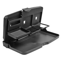 Wholesale car travel tray resale online - VODOOL Universal Folding Car Back Seat Tray Auto Travel Dining Table Water Cup Drink Holder Stand Foldable Car Pallet Desk