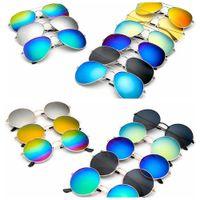 Wholesale frogs sunglasses resale online - Sunglasses Frog Sunglass Reflective Goggles Mirror Retro Vintage Sun Glasses Outdoor Classic Eyeglasses Eyewear Color MMA2142