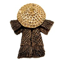 Wholesale antique garden ornament resale online - DIY Landscape Antique Bamboo Ornaments Potted Plant Garden DecorMini but not a toy decorate one of a small garden that looks wonderful