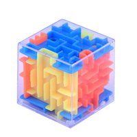 1Pc 3D Money Maze Bank Cube Puzzle Saving Coin Collection Case Box Brain Game