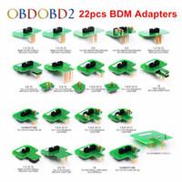 Wholesale bdm adapter set resale online - Best Quality BDM Adapters KTAG KESS KTM Dimsport BDM Probe Adapters Full Set LED BDM Frame ECU RAMP Adapters DHL Free