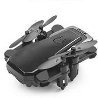 antenne hd-kamera großhandel-Faltbarer Hubschrauber FPV HD Kamera Luftbild Fotografie Drohne Lange Batterie Mini Selfie Fernbedienung WIFI One Key Return