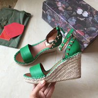 Wholesale sexy leather foot for sale - Group buy European big name luxury goods new style women s shoes high heel shoes sandals sexy shoes bare feet genuine leather rivet cm heel