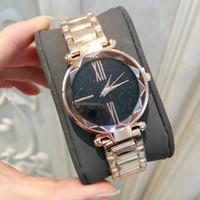 ingrosso tavolo libero-2019 vendita calda donne di lusso orologio in oro rosa moda di alta qualità della signora dress orologio da tavolo al quarzo gioielli spedizione gratuita Relojes De Marca Mujer