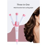 Wholesale hot hair roller resale online - New arrival professional ceramic automatic hair curler rollers for salon and home use in stock hot sell