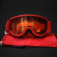 gözlükler toptan satış-Toptan-Marka Gözlüğü TPU Kum Kontrol Kırmızı Siyah Mavi Renk 55hg J1 ile Göz Kayak Gözlükler Dış Mekan Kayak Cam Moda Popüler koruyun