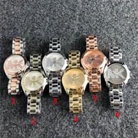 relógios de mulher quartzo de couro venda por atacado-Brand21 Moda de luxo Homens ou Mulheres Relógio Mecânico de Quartzo Relógios mens womens Casais de Couro ou Aço banda relógios relógios Atacado
