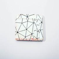 Wholesale coin online - Geometric Mini wallet Girl Card Change Holder Mirror lase Wallet Fashion Laser Money Bag Coin Purse Style LJJS7108