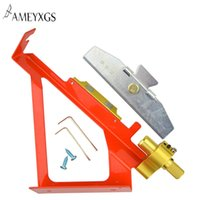 ingrosso set di jig-1 pz Tiro con l'arco Fletching Jig Arrows Feather Stick Tool Regolabile Red Fletching Bow e Set Caccia Jig Accessori di tiro