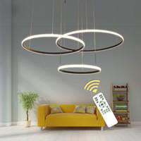 Wholesale modern lights for dining room for sale - Latest design Acrylic Modern Led Ceiling Lights For Living Room Bedroom White Black Led Home Ceiling Lighting Fixtures AC85 V