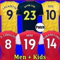 Wholesale red shirt football resale online - TOP Arsen soccer jersey PEPE NICOLAS CEBALLOS HENRY GUENDOUZI SOKRATIS MAITLAND NILES TIERNEY football shirt Men Kids kit