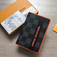 nouveau portefeuille hommes achat en gros de-La nouvelle déclaration masculine du nouveau porte-monnaie design de luxe pour hommes en cuir de luxe
