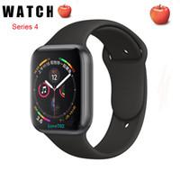 ingrosso orologio intelligente iwatch-IWO smart watch 44 millimetri Serie 4 1to1 Bluetooth Smartwatch frequenza cardiaca di sport del monitor per Huawei Xiaomi iPhone x xs Goophone iWatch orologi telefono
