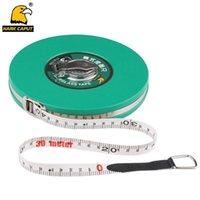 Wholesale metric tape measures resale online - Glass Fibre Measuring Tape M Measuring Tape Retractable Flexible Ruler Metric Gauge Measuring Tools T200602