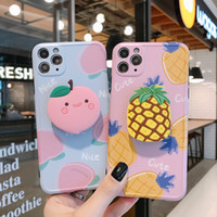 Wholesale fruit chinese resale online - New Fruit with Bracket Phone Cases for Iphone Pro High Quality Iphone X XS Pro Max Case