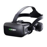 экран виртуальной реальности оптовых-J20 VRPARK VR очки Виртуальная реальность Шлем в одном Шлем с сенсорным экраном Монтируется на голову Разрешение 1080p Размер экрана 4.0-6.0