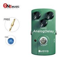 delay joyo venda por atacado-Joyo JF-33 Analog Delay Pedal de Efeitos de Guitarra True Bypass MU0022
