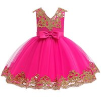 Wholesale birthday party clothes for sale - Group buy Baby Girls Lace Princess Dress for Baby Year Birthday Dress Wedding Party Baptism Newborn Clothes vestidos infantil