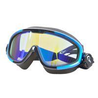 противотуманные плавательные очки оптовых-Yon Sub Large Frame Goggles Anti-Fog Waterproof Hd Swimming Goggles Professional Swimming Equipment Men Women