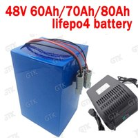 Wholesale rechargeable motorcycle for sale - Group buy GTK Lithium V AH lifepo4 V Ahbattery V Ah Rechargeable for w scooter bike Solar motorcycle vehicle A Charger
