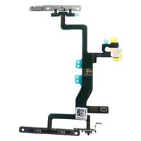 Wholesale For iPhone S inch Power Button and Volume Button Flex Cable Ribbon Assembly Replacement