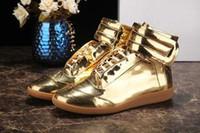 zapatos de crochet al por mayor-2019 de alta calidad caja original de ganchillo mocasines nuevos diseñador en blanco y negro botas de los hombres casuales planas del tamaño de los zapatos del partido 38-46