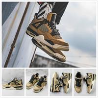 design basquetebol sapatos masculinos desportivos venda por atacado-4s tênis de basquete sapatos Mushroom New Release clássico Sport para Homens Mulheres Design Sapatilhas Trending Trainers Casual
