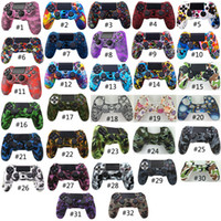 Wholesale silicone skin case ps4 for sale - Group buy 32 Colors Silicone Camo Protective Skin Case For Sony Dualshock PS4 DS4 Pro Slim Controller