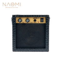 alto-falante amplificador venda por atacado-NAOMI Amplificador 3 W Protable Mini Bass Guitar Bass Guitar Speaker Amplificador de Guitarra Amp Headphone Novo