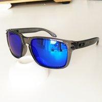 güneş gözlüğü holbrook toptan satış-O logo marka 9102 POLARIZE Otantik Holbrook tasarımcı Güneş Gözlüğü için Lensler 100% UV400 Koruma Marka Kutusu Ile Birden Çok Seçenek ...