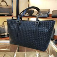 Wholesale hand bag for sale - Group buy designer luxury handbags purses handbag designer handbags leather pure weave hand woven weaving handmade style bag large designer duffle bag