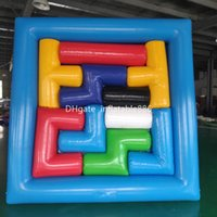 Wholesale swing slides resale online - High Quality PVC Inflatable Games Indoor and Outdoor Inflatable Puzzle Amusement Equipment Customized Inflatables