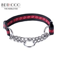 Wholesale customize dog collars resale online - BDTHOOO Large Durable Personalized Dog Collar Padded Pet Collars Customized for Small Medium Large Dogs