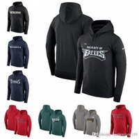 Wholesale gore tex xcr jacket for sale - Group buy Athletic Sports Outdoor Wear Jackets Eagles Steelers ers Seahawks Buccaneers Titans Property Of Performance Pullover Hoodie