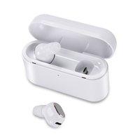 mais pequenos fones de ouvido bluetooth venda por atacado-2019 venda Quente Sem Fio Bluetooth fones de ouvido fones de ouvido K02 Estéreo Pequeno Único Fone de Ouvido com caixa de carregamento de 1200 mAh Invisível Fone de Ouvido fone de Ouvido DH