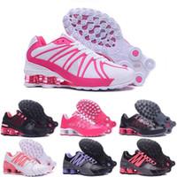 envío gratis nz al por mayor-Airs Shox Shoes Mujer Shox Avenue 802 Zapatillas de baloncesto NZ OZ R4 Zapatillas Shox Avenue us Tamaño 36 - 40 Envío gratis
