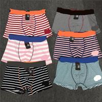 xxl schlägt unterwäsche großhandel-Marke männer ua underwear boxer luxus designer stripped boxer hause baumwolle shorts briefs atmungsaktiv männlichen höschen unterhose l-xxl neue c52902