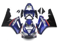 Wholesale motorcycle new body kit resale online - New Injection ABS Plastic Motorcycle Fairings Kits Fit For Triumph Daytona Fairing Body black blue FR