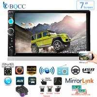 Wholesale car multimedia player for sale - Group buy Autoradio Din Inch Car Radio Bluetooth Auto Stereo Multimedia Player MP5 Support Rear View Camera Double