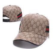 chapeaux de tigres achat en gros de-2019 Designer Hommes Casquettes De Baseball Nouvelle Marque Tête De Tête Chapeaux Or Brodé OS Hommes Femmes casquette Chapeau De Soleil gorras Sports Cap Drop Shipping
