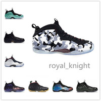 Wholesale basketball galaxy shoe resale online - 2018Arrival Sequoia Black Metallic Gold Penny Hardaway Men Basketball Shoes foam one Alternate Galaxy OG Royal Olympic Sports Sneakers