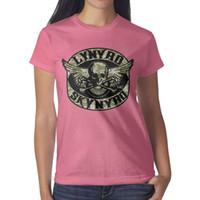 розовые камуфляжные майки оптовых-Lynyrd Skynyrd рок-группа Камуфляж розовая футболка, футболки, футболки, майки футболка дизайн графический супергерой группа спортивная футболка