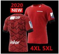 camisas grandes venda por atacado-Mais recente camisa CRUSADERS 2020 Nova Zelândia Super Rugby Jerseys cruzados Home Jersey League Rugby Jersey grande tamanho s-5XL à venda