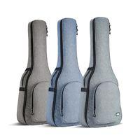 holzgitarren groihandel-25MM verdickte Gitarrentasche 41-Zoll-Schulter-Schultertasche 40-Zoll-Gitarrenrucksack mit Ballade aus Holz