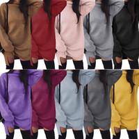 Wholesale sweater colors turtleneck online - Turtleneck Sweater Mini Dresses Colors Women Knit Pullover Long Sleeve Knitwear Mini Dress Knitwear Spilt Maternity Dress OOA6019
