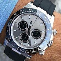 correas de relojes de cerámica para hombres. al por mayor-Goma elástica de Asia 2813 mecánico automático de oro rosa 116519 de lujo de cerámica para hombre del diseñador de moda reloj de pulsera Relojes Hombre