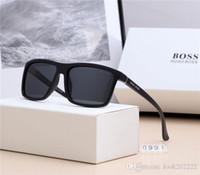 güneş gözlüğü avrupası toptan satış-Yeni moda marka güneş gözlüğü yüksek kaliteli lüks tasarımcı güneş gözlüğü, zarif kutuları ile, retro iş sürüş Avrupa ve Amerika