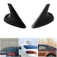 car antenna Black Dummy Shark Fin Style Aerial Mini Antenna Car decoration car accessories