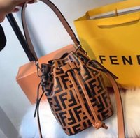 Wholesale handbags mixed for sale - Group buy Excellent Quality real leather fashion women shoulder bag Tote designers handbags presbyopic shopping bag purse luxury xxsFENDI bag F40
